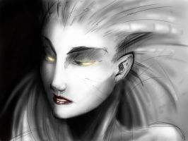 Queen of Blades by thelivingmachine02