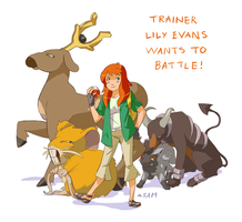 Trainer Lily Wants to Battle