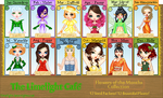 Limelight Cafe Monthly Flower Collab by PoppedArtDolls