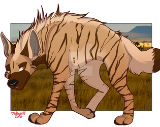 Accalia the Striped Yeen by Nanyehicoyote