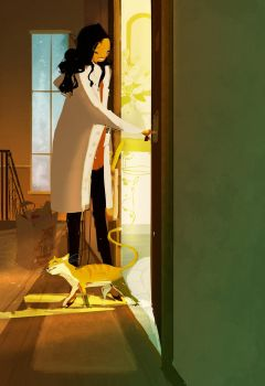 Glad you're home. by PascalCampion