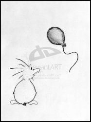 Zo's Red Balloon - Original by ZoDuck
