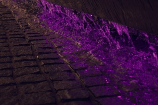Purple Water Fountain by ADI21071