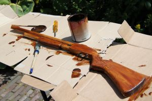 sot gun wood painted now just? by melliepivot