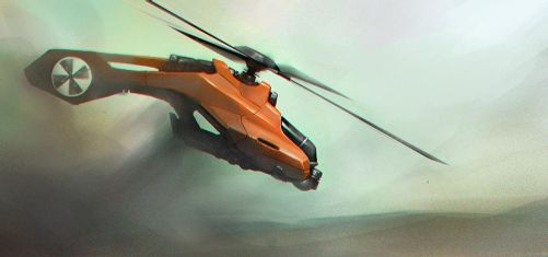Helicopter by Callergi