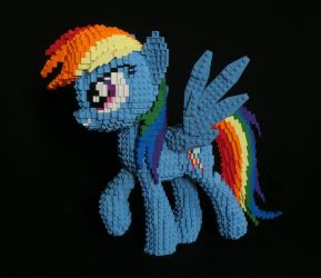 LEGO Rainbow Dash by Oilyvalves