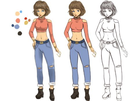 AiSoi's Character Design Contest by ShAnimee