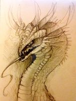 Dragon by YoungLadyArt