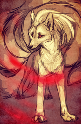 :.ninetales.: by WhiteSpiritWolf