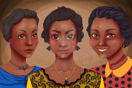 Wizard portraits: Three Sisters