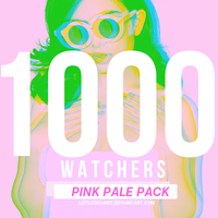 1 0 0 0  W A T C H E R S - PINK PALE PACK by LittleDr3ams