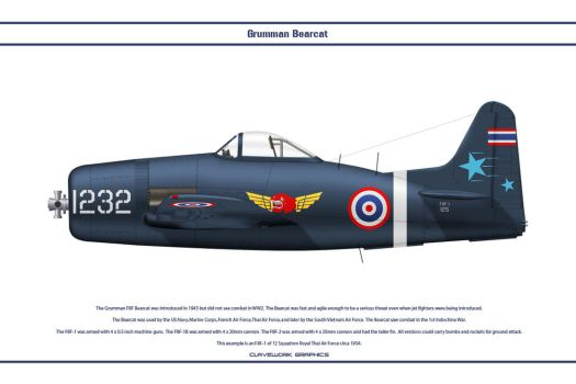 Bearcat Thailand 12 Sqn by WS-Clave