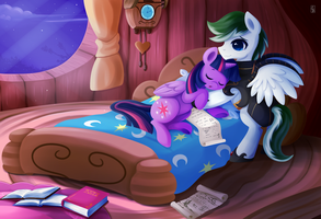 MLP Commission .:Good Night:. by Exceru-Karina