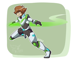 Pidge by RobynTheDragon