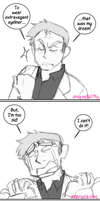 Powerful Eyeliner Runs in the Family by Katarinu
