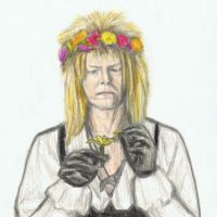 Jareth being romantic by gagambo