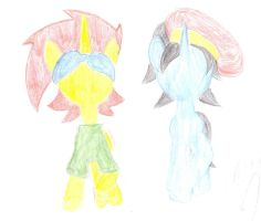 Captain Goggles And Bronycurious Faceless Icon by kenmaster12