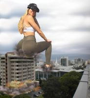 Demolition Giantess by GangstaLilith2