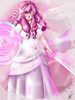 Rose Quartz Universe,a fleeting dream by AxelTherion