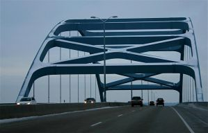 Leo Frigo Memorial Bridge by amerindub