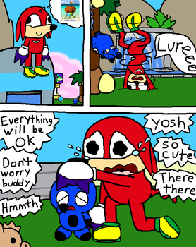 Knuck it off Knuckles by Angelchao64