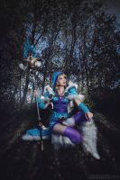 Crystal Maiden Cosplay from Dota2 by TineMarieRiis