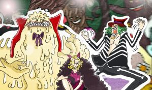 One Piece Chapter 843+ Spoilers Big Mom family ? by Amanomoon