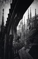 Between gotic capitals by marco52