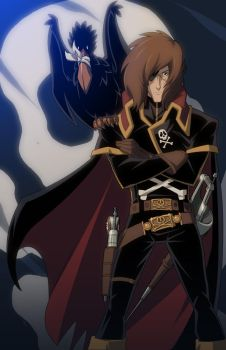 Captain Harlock by E-Mann