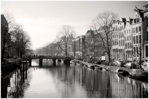 Amsterdam in autumn by electricblue86