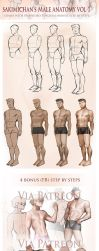 Male Fullbody step by step tutorial by sakimichan