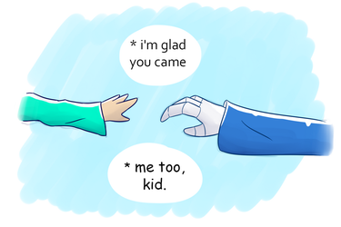 So Glad you came. by CandyAICDraw
