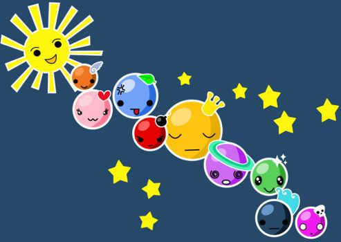 The solar system by hyky