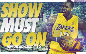 Dwight Howard Los Angeles Lakers Wallpaper by albertodsantos