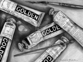 Golden Paints by micalemer