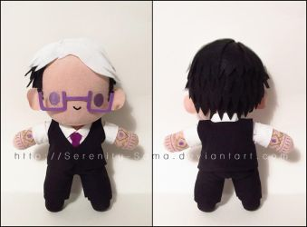 Chibi Cecil - Welcome to Nightvale by Serenity-Sama