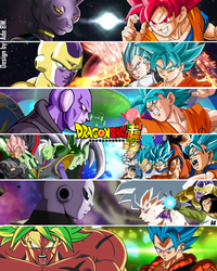 Dragon Ball Super All Opponents by AdeBa3388