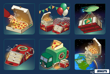 Futurama IAP Icons by zarry