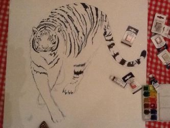 White tiger 3 by megumi16