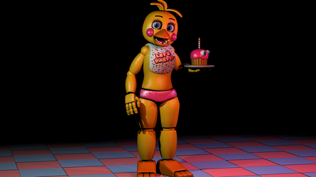 [FNAF 3DS MAX] Everyone's Favourite by Sallymance