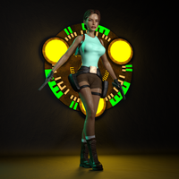 Classic Raider 89 by tombraider4ever