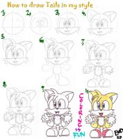 Tails tutorial by LeniProduction