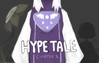 Hypetale Chapter 1 Cover by CloneLab