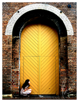 The Yellow Door No.1 by Rah-They