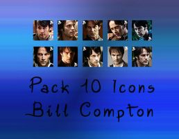Bill Compton Icons Pack by angiezinha