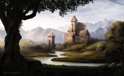 Red Castle by NM-art