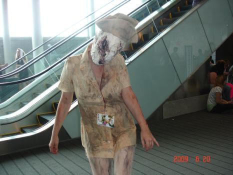 Silent Hill Nurse by PitXPeach4ever