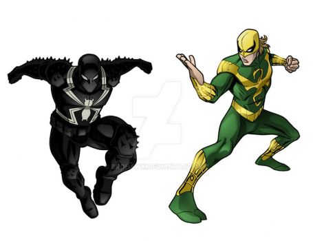 Ultimate Spider-Man team up 2 by BroHawk
