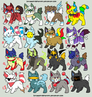 50 Point Adopts Batch #3 OPEN ONE LEFT by bitecore