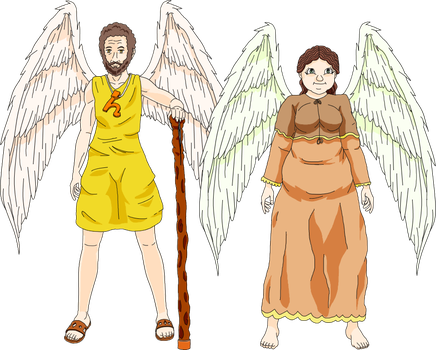 Zatch Bell! OC's - Priest Saturn and Priestess Ops by TDPNeji